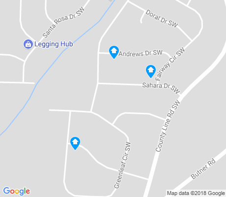 map of Fairway Acres apartments for rent