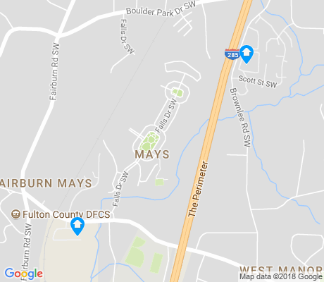 map of Mays apartments for rent