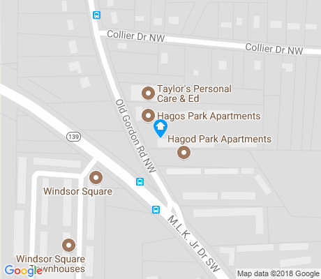 map of Old Gordon apartments for rent
