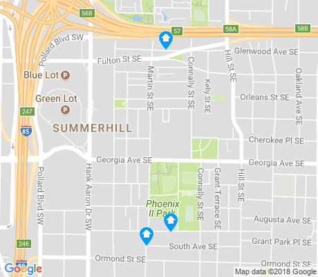 map of Summerhill apartments for rent