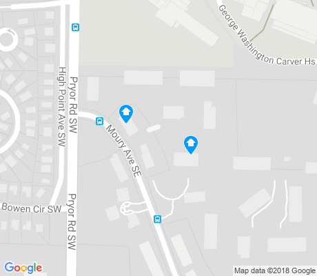 map of The Villages at Carver apartments for rent