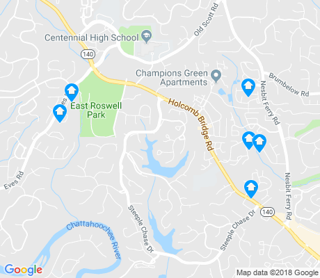 map of Horseshoe Bend apartments for rent