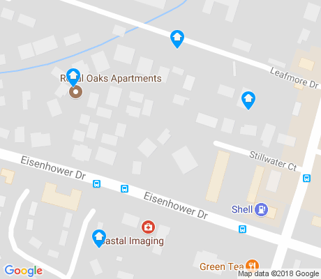 map of Oakdale apartments for rent