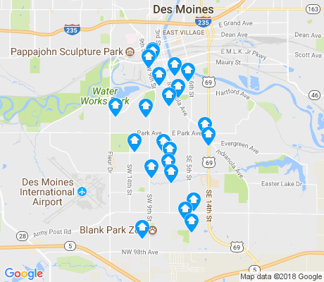 map of 50315 apartments for rent