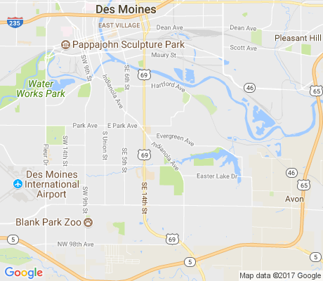map of Ewing Woods - Evergreen apartments for rent