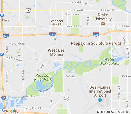 map of Frisbie Park apartments for rent