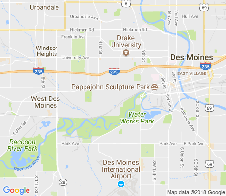 map of Greenwood apartments for rent