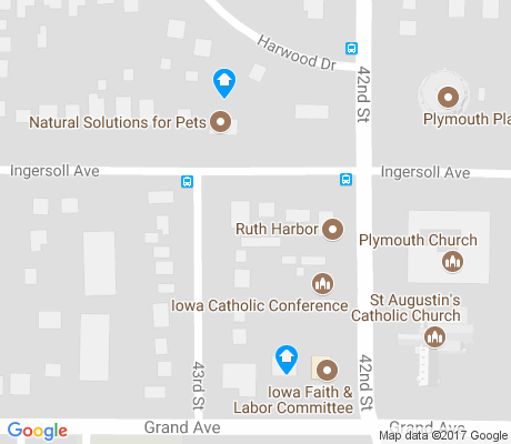 map of Ingersoll Park apartments for rent