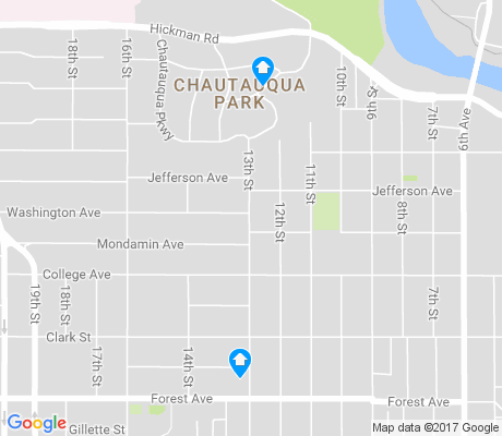 map of King-Irving Park apartments for rent