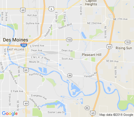 map of Laurel Hill apartments for rent