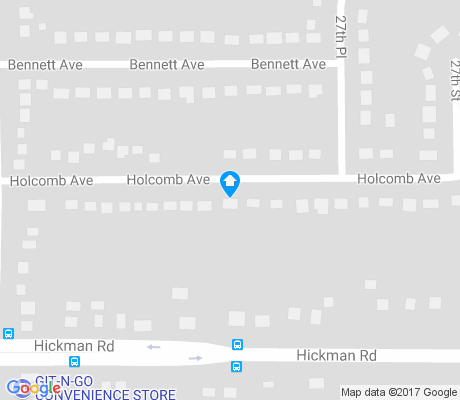 map of Martin - Hickman apartments for rent