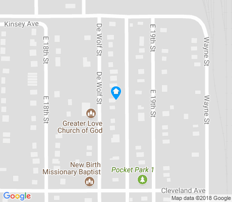 map of Martin Luther King Jr. Park apartments for rent