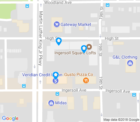 map of Sherman Hill apartments for rent
