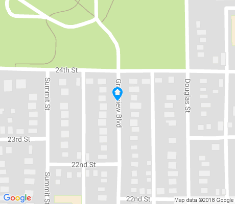 map of Rose Hill apartments for rent
