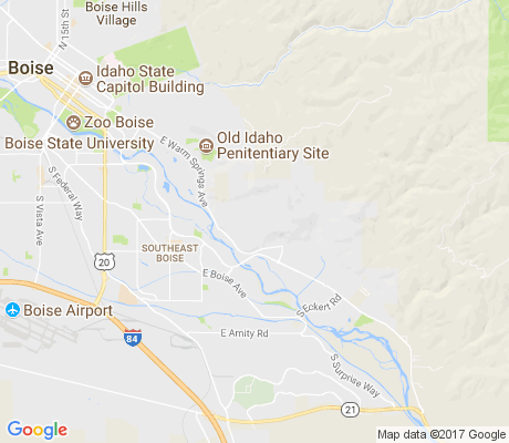 map of Warm Springs Mesa apartments for rent
