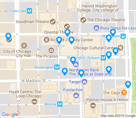 map of 60602 apartments for rent