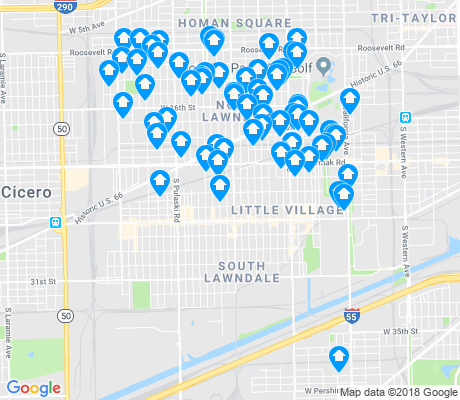 map of 60623 apartments for rent