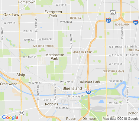 map of Beverly Woods apartments for rent