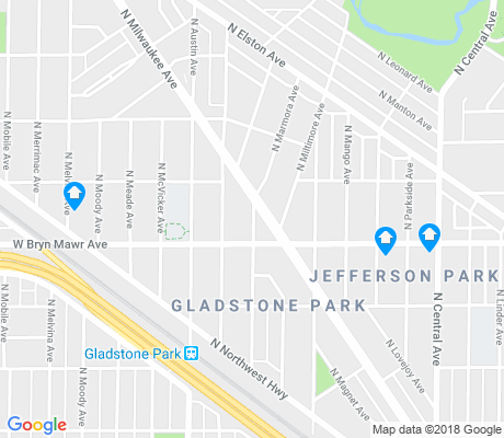 map of Edgebrook apartments for rent