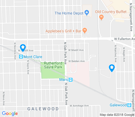 map of Galewood apartments for rent