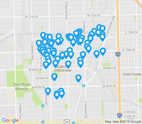 map of Gresham apartments for rent
