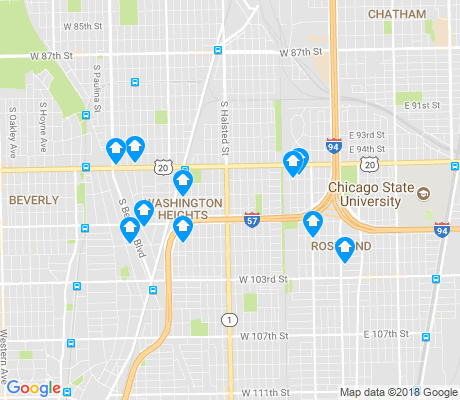 map of Longwood Manor apartments for rent