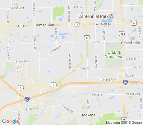 map of Brook Hills West apartments for rent