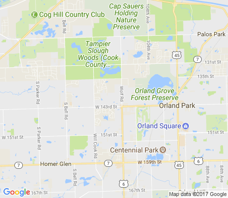 map of Creekside apartments for rent