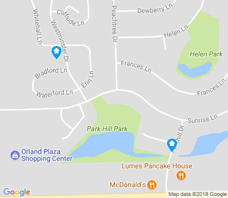 map of Village Square of Orland apartments for rent