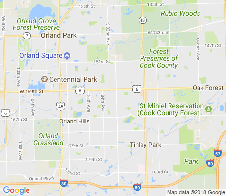 map of Meadow Park Estates apartments for rent