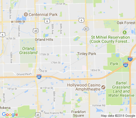 map of Pottawatomi apartments for rent