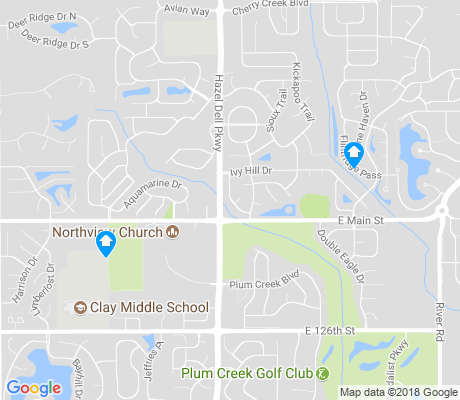 map of Plum Creek apartments for rent