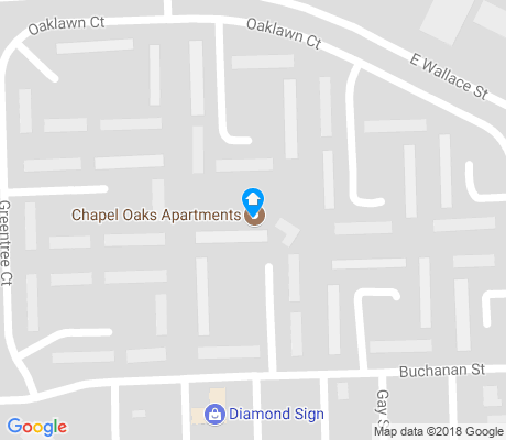 map of Chapel Oaks apartments for rent