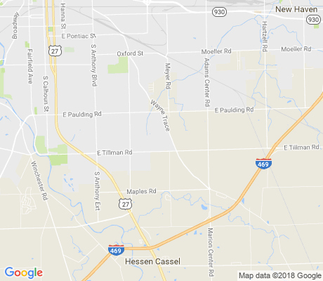 map of Crown Colony apartments for rent