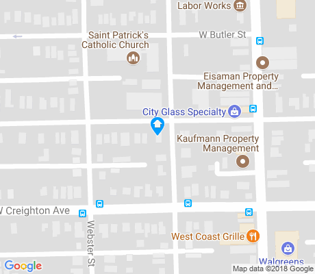 map of Hoagland Masterson apartments for rent