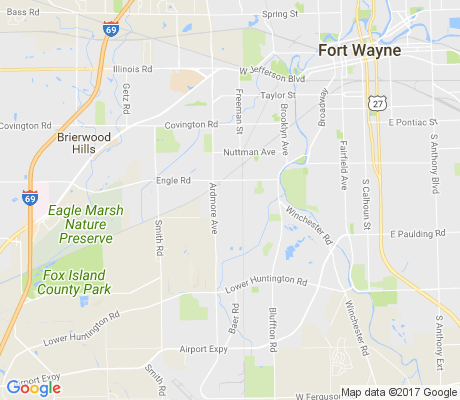 map of Kyle Road apartments for rent