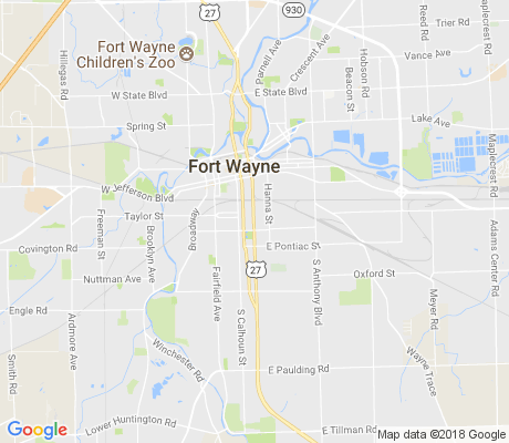 map of LaRez apartments for rent