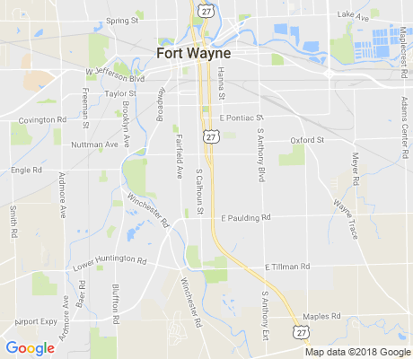 map of Lafayette Place apartments for rent