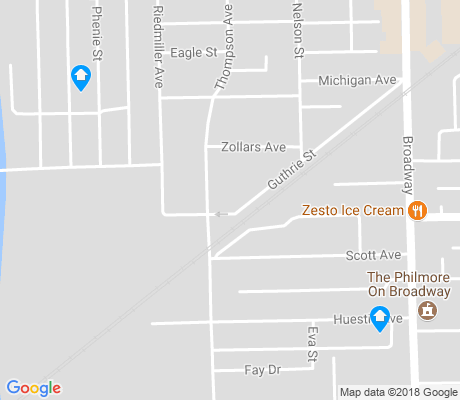 map of Michigan Avenue apartments for rent