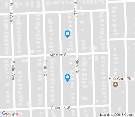 map of Pontiac Place apartments for rent