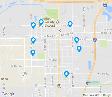 map of Glen Park apartments for rent