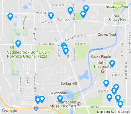 map of 46228 apartments for rent