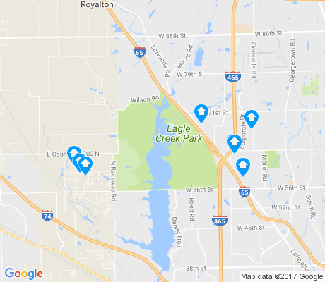 map of 46278 apartments for rent