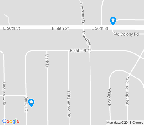 map of Brendonwood apartments for rent