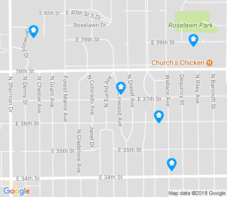 map of Forest Manor apartments for rent