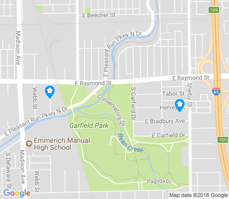 map of Garfield Park apartments for rent