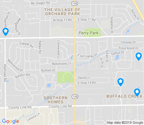 map of Hill Valley apartments for rent