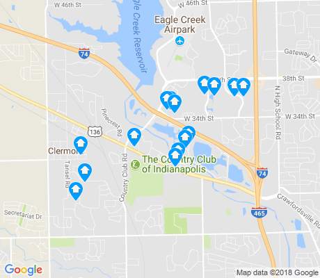 map of Key Meadows apartments for rent