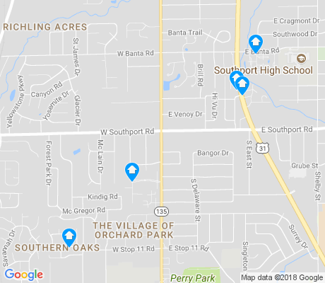 map of Linden Wood apartments for rent