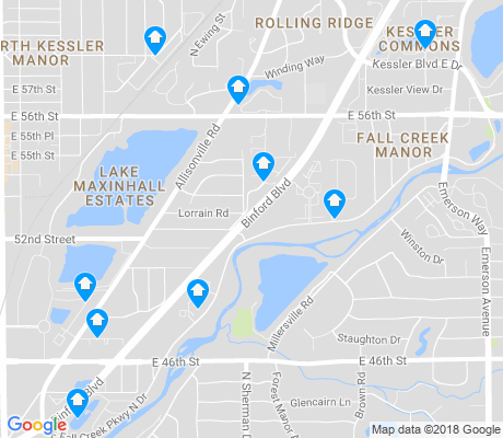 map of Millersville apartments for rent